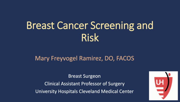 Breast Cancer Screening and Risk