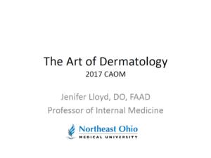 The Art of Dermatology