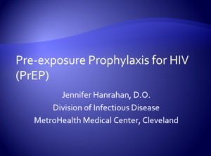Pre-Exposure Prophylaxis for HIV (PrEP)