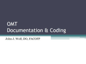 OMT Documentation & Coding