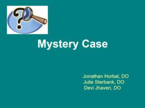 Mystery Case (Mastocytosis)