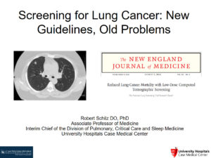Screening for Lung Cancer: New Guidelines, Old Problems