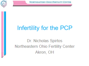 Infertility for The PCP