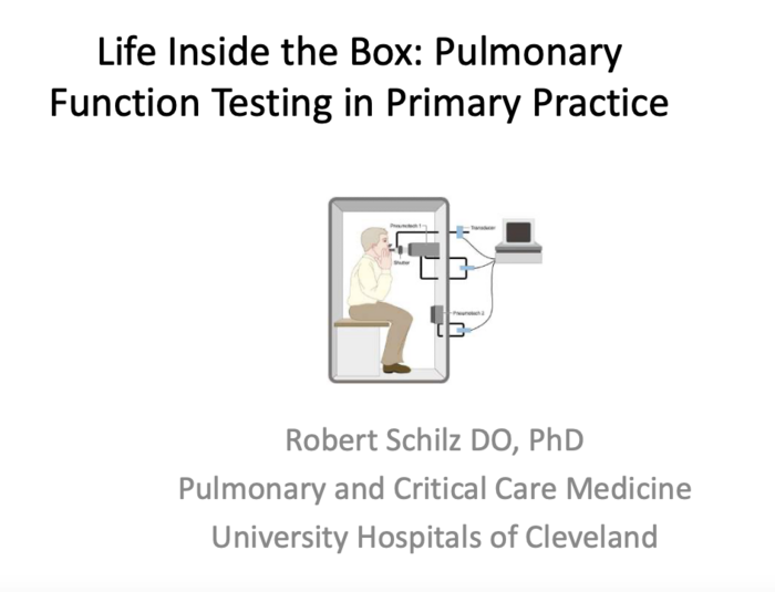 Life Inside the Box: Pulmonary Function Testing in Primary Practice