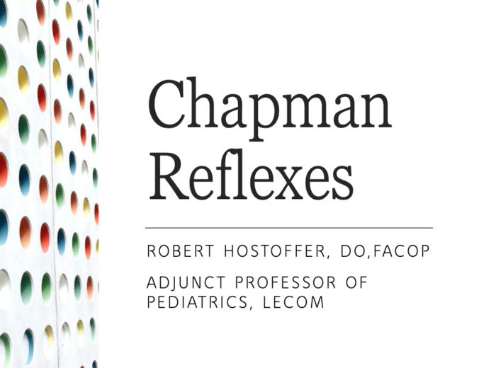 Chapman's Reflexes